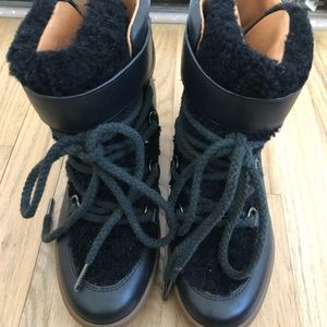 Coach wedge cold weather boots